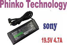 Sony Vaio 90W Genuine Original Adapter Charger for VGP-AC19V41 VGP-AC19V51