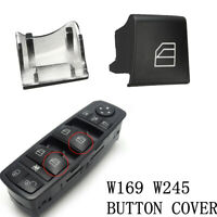 For Mercedes Benz W245 W169 Window Switch Driver Side Right Button Cap Cover  p