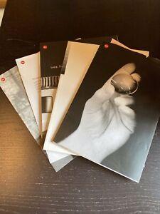 Leica A Collection Of 5 Brochures