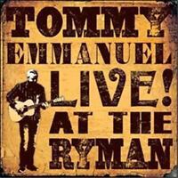 TOMMY EMMANUEL CGP Live! At The Ryman CD BRAND NEW Gatefold Sleeve