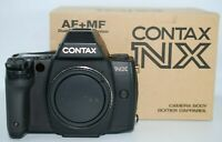 [N.MINT TESTED IN BOX]  Contax NX 35mm SLR Film Camera Body From Japan # 183
