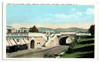 Fort William Henry Hotel, Lake George, NY Postcard