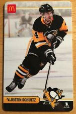 Justin Schultz McDonalds Pittsburgh Penguins Collectible Gift Card No Value