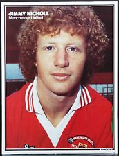 FOOTBALL PLAYER PICTURE JIMMY NICHOLL MANCHESTER UNITED SHOOT