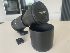 TAMRON SP 150-600mm F/5-6.3 Di VC USD LENS FOR CANON WITH HOOD