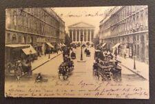 CPA. PARIS. 75 - La Rue Royale. Attelages. 1903.