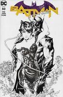 Batman #50 Variant Cover B B&W Eric Basaldua (Ebas) & Sabine Rich Comic Book