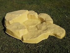 Garden Pond Plastic Watercourse SANDSTONE - Instant Waterfall/Stream/Rock Pool