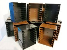 ADD N STAC Connecting Cassette Tape Cartridge Storage Units - Each Holds 8 Tapes