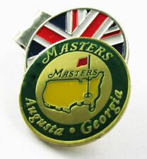 """2017 """"Augusta Georgia"""" MASTERS BALL MARKER with a UNION JACK HAT CLIP"""