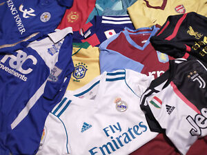Kids Youths 32x FOOTBALL SHIRT Kit Wholesale Resale Arsenal Barcelona Juventus