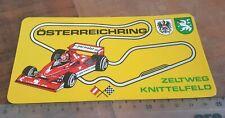 Österreichring 1978 Niki Lauda Brabham alter Aufkleber, F1 Grand Prix Österreich