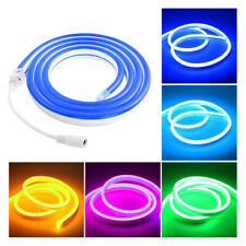 12V Silicone Flexible Led Strips Waterproof Neon Lights Tube 1/2/3/4/5m Lamp 13