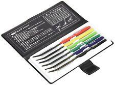 NEW TSUBOSAN MA00600 Hardness Tester Checker File HRC40-HRC65 Set from Japan F/S
