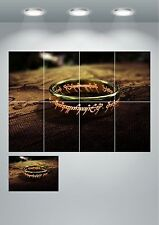 Lord Of The Rings ONE Ring Giant Wall Art poster Print