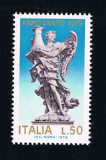 ITALIA 1 FRANCOBOLLO ANNO SANTO 50 LIRE 1975 nuovo** (BI11.511)
