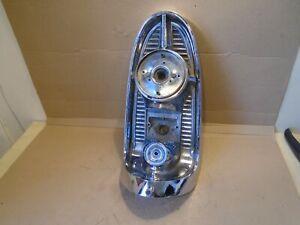 1956 Chevy Left TAILLIGHT gas fuel door lamp light Belair 56 Chevrolet Bel Air