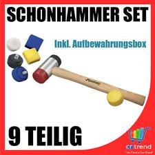 Hickory Schonhammer Set 9 teilig in Aufbewahrungs Box Ideal für Metallwerkstatt