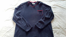Tommy Bahama Vacation V-Neck Sweater Mens Size Large Style # TD40062 Blue Note