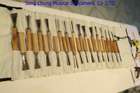 30pcs ASSORTED LOT WOOD CARVING TOOLS,Chisel,musical instrument tool