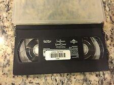 WALT DISNEY EL JOROBADO DE NOTRE DAME HUNCHBACK RARE SPANISH DUBBED VHS CARTOON!