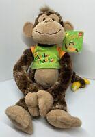 """Cheeky Charlie"" Classic Hanging Chimp Monkey Plush Animal by Aurora"