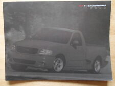 FORD F-250 Lightning ORIG 2000 USA inchiostri Prestige SALES BROCHURE-SVT