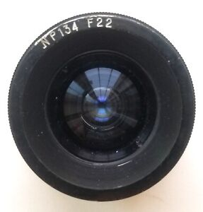 Extremely rare Russian Prototype LOMO 22mm f3.4 cinema Lens The one on Ebay