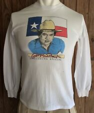 George Strait Men's Large Tshirt Vintage 80's Something Special Tour 50/50 USA
