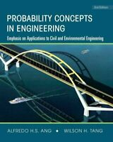 Probability Concepts in Engineering : Emphasis on Applications in Civil & Env...