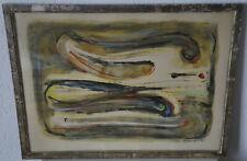 L. ZEILINGER  (1897/1990)   - ABSTRACTION LYRIQUE  - 1965 - Signé