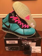 Nike Air Lebron James 8 VIII South Beach Pre Heat New w Box DS Size 13 OG RARE