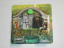 Art Asylum GANDALF THE WHITE & KING THEODEN Lord of The Rings Minimates Set