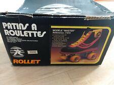 """Ancien Patin a roulette Marque """" Rollet """" - taille 38/39/40 en boite"""