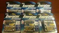 (6) Pack's Energizer OF 8 AA Batteries Ultimate Lithium 12/2036 Prepper