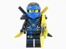 LEGO® Ninjago™ Deepstone Jay Blue Ninja Minifigure Yellow Aeroblade NEW 2015