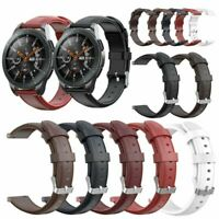 Bracelet cuir Straps Watchand pour Samsung Gear S3 Galaxy Watch 46mm Gear 2 BUS