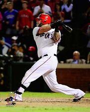 MIKE NAPOLI 2011 World Series Texas Rangers LICENSED poster print 8x10 photo