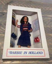 Barbie in Holland doll wearing Aboard Ship repro NRFB 1996 Dutch convention