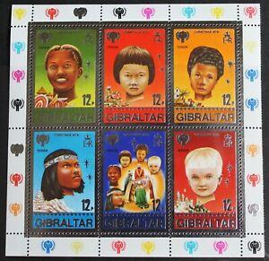 Gibraltar – 1979 Christmas – Minisheet – UM (MNH) (R5)