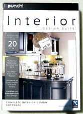 Interior Design Suite  - New Retail Box DVD Punch! encore software Windows PC