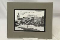 Mark Monsarrat Ghirardelli Matted Lithograph San Francisco Scenes Signed