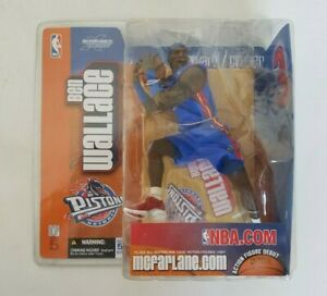 Ben Wallace Pistons NBA McFarlane Series 5 Blue Variant Chase Action Figure