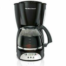 Hamilton Beach 12 Cup Programmable Auto Shutoff Countertop Coffee Maker