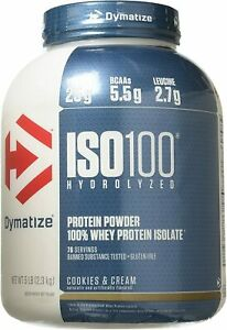 Dymatize Iso 100 Cookie & Cream 5 lbs