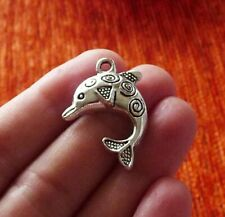 5pcs Dolphin Charm Bracelet Charms Pendants for Jewelry Making Necklace Findings