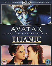 Avatar 3D / Titanic 3D NEW BLU-RAY (5631607000)