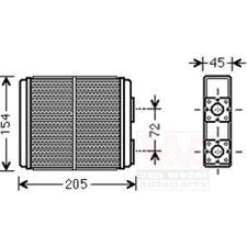 Heat Exchanger, Interior Heating 37006403
