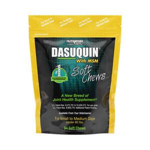 Nutramax Laboratories Dasuquin with MSM Soft Chews, Small/Medium Dog Under 60 lb