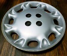 "(1) OEM 1996-1997 Saturn SL SW SC 15"" Bolt-On Hubcap Wheel Cover #D GM 21011859"